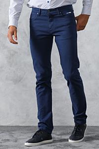 blue slim fit trousers mens