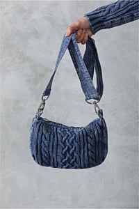 Irish Knitwear cotton crossbody Bag.