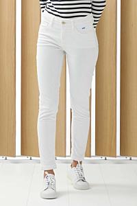 pantalon velours blanc