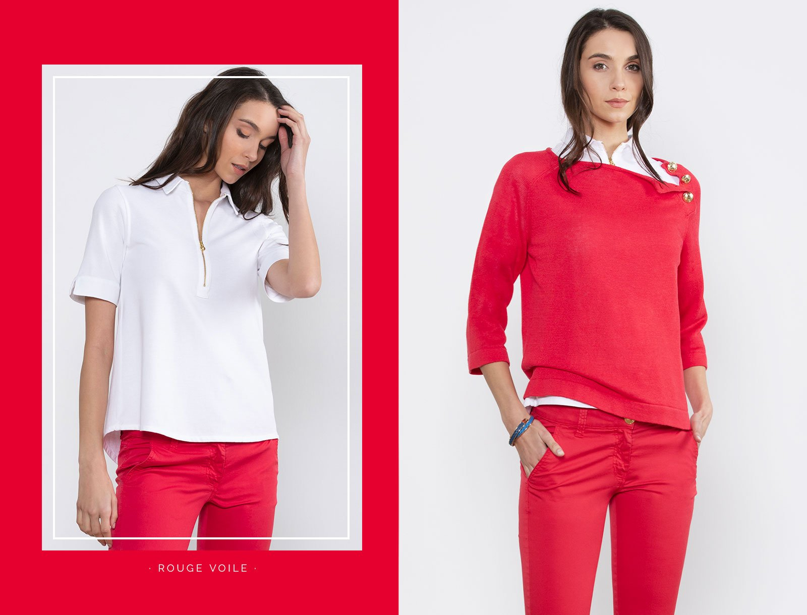 Escales Shirts FemmePolo Lookbook FemmePolo Lookbook Escales Shirts xBerCWdo