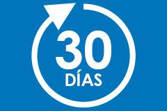 cambios y devoluciones 30 días
